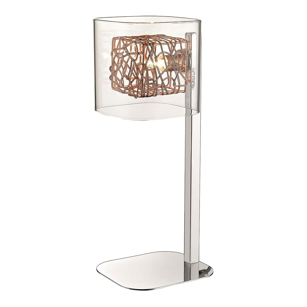 Chrome Holland Table Lamp