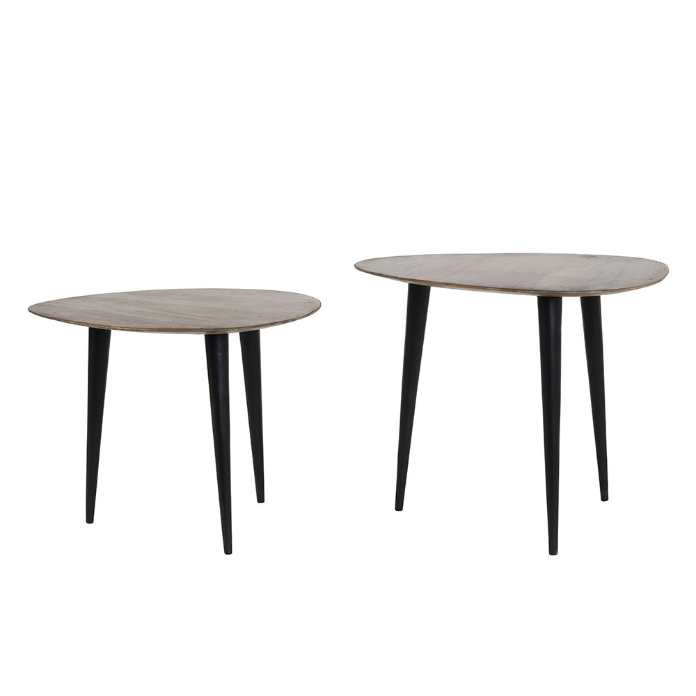 Chasey Wood Side Tables
