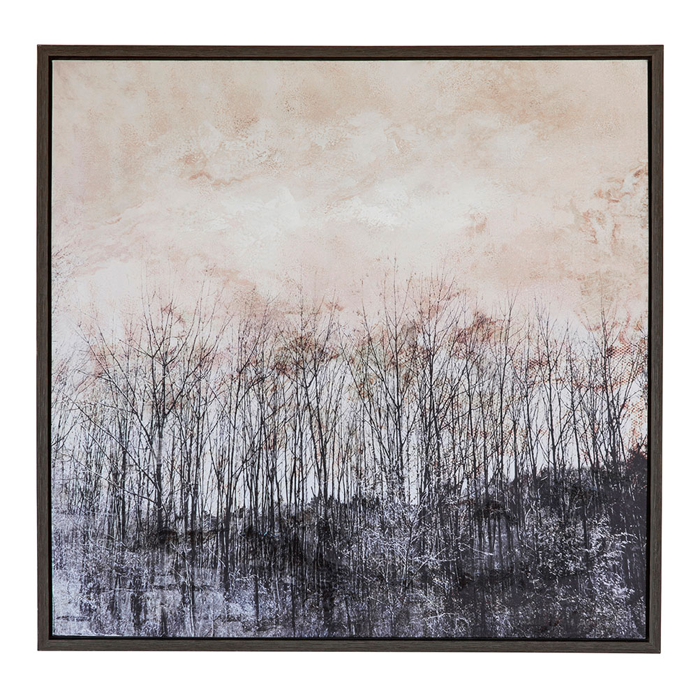 Autumn Woodland Framed Art