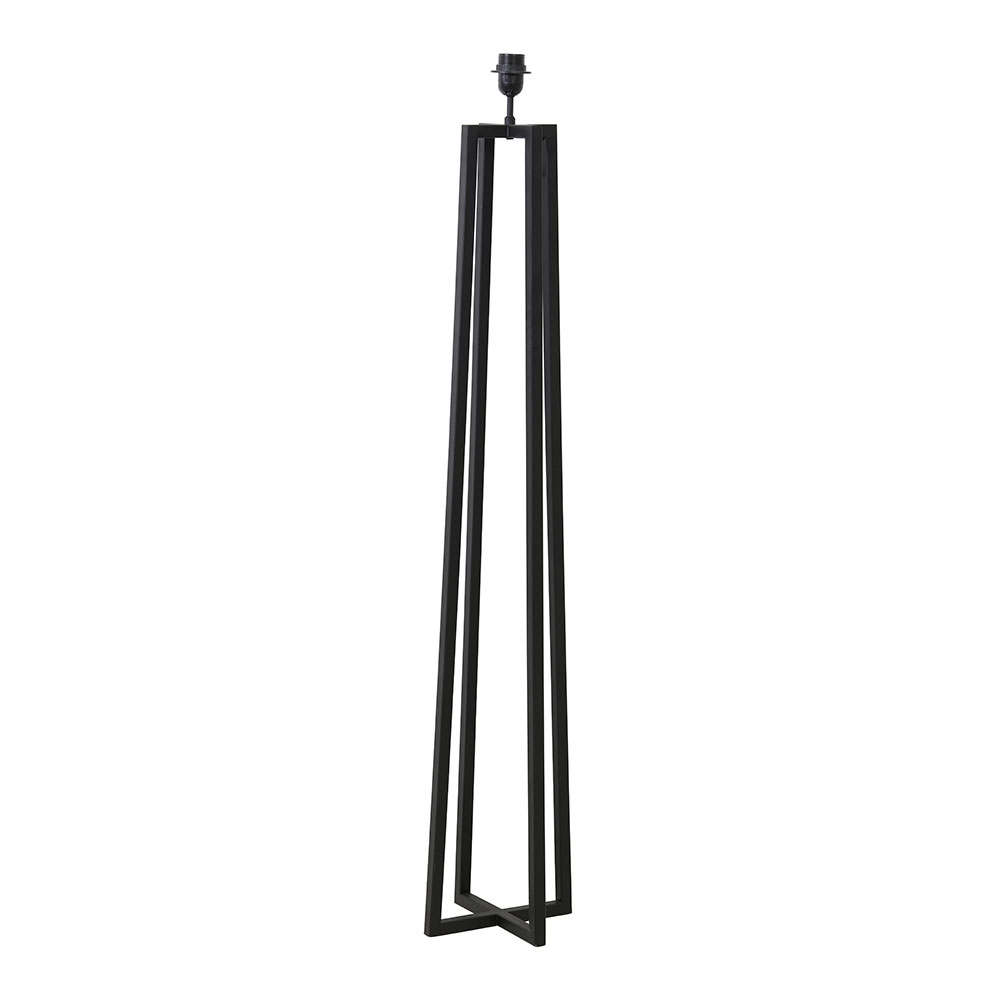 Miley Matt Black Floor Lamp