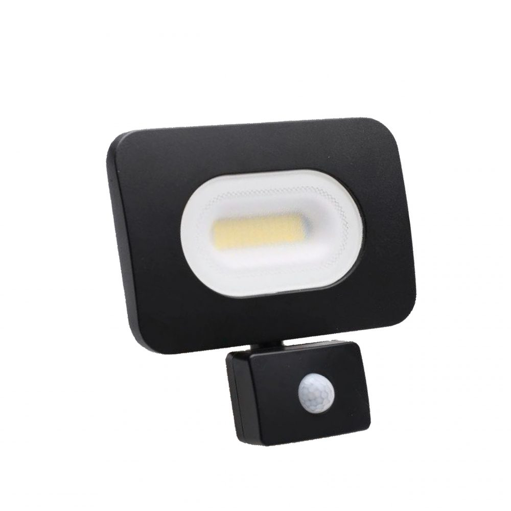 Slimline LED Floodlight w/ PIR