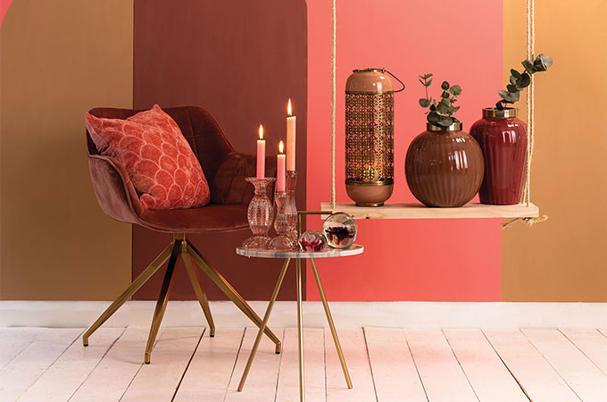 Blush Pink - a beautiful and subtle trend, sure to give your home an elegant and contemporary look.