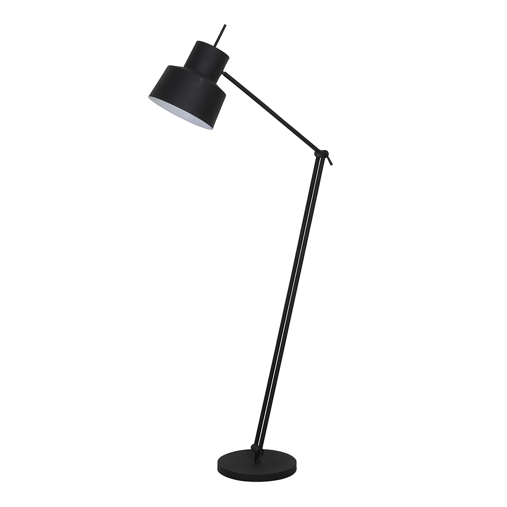Wesly Matt Black Floor Lamp