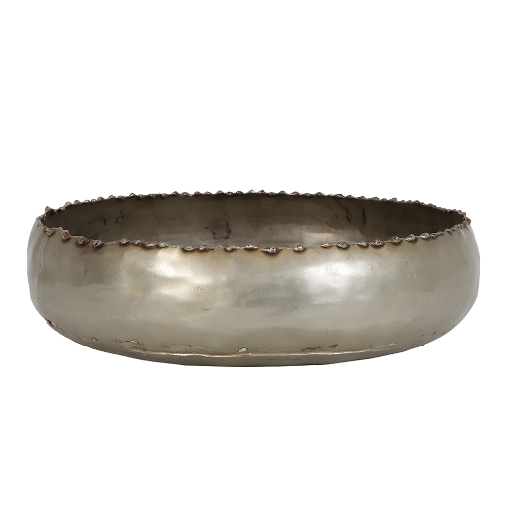 23x6cm Gaja Antique Nickel Dish
