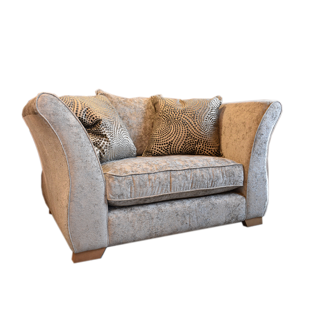 Alessia Scatter Back Love Seat