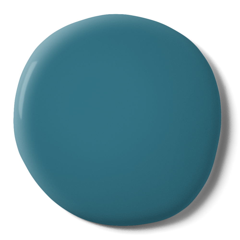 Teal The Show Paint