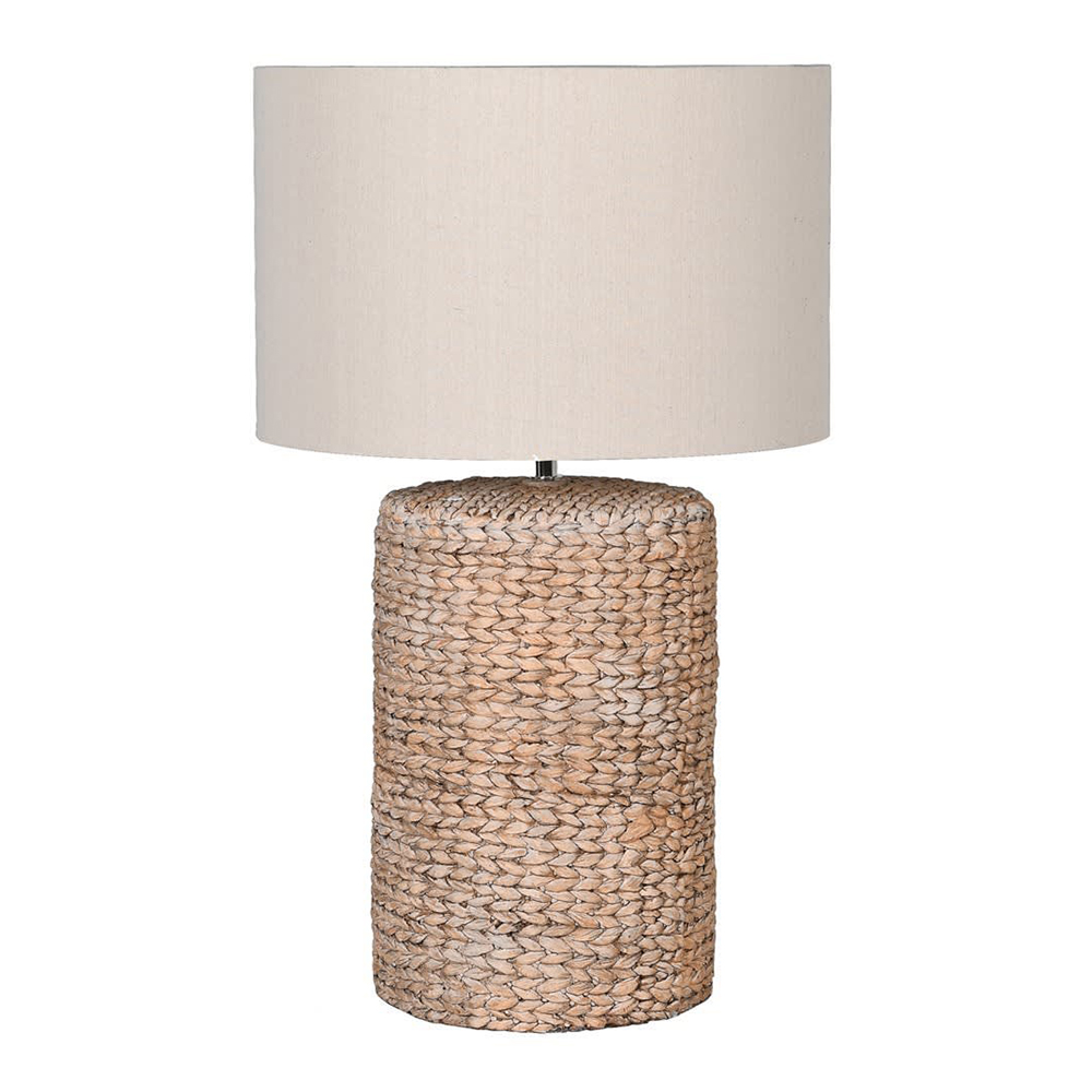 Large Rope Effect Table Lamp