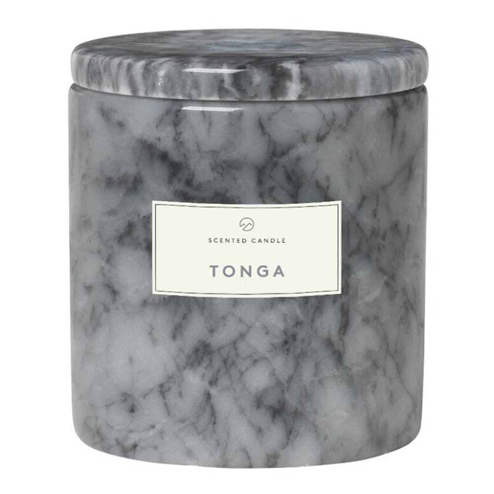 Marble Tonga Scented Candle