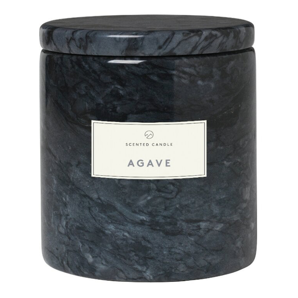 Marble Agave Scented Candle