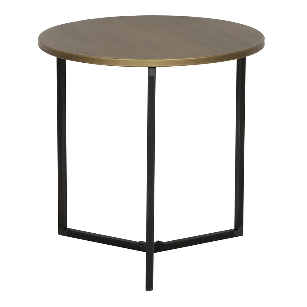 Tortula Bronze Side Table