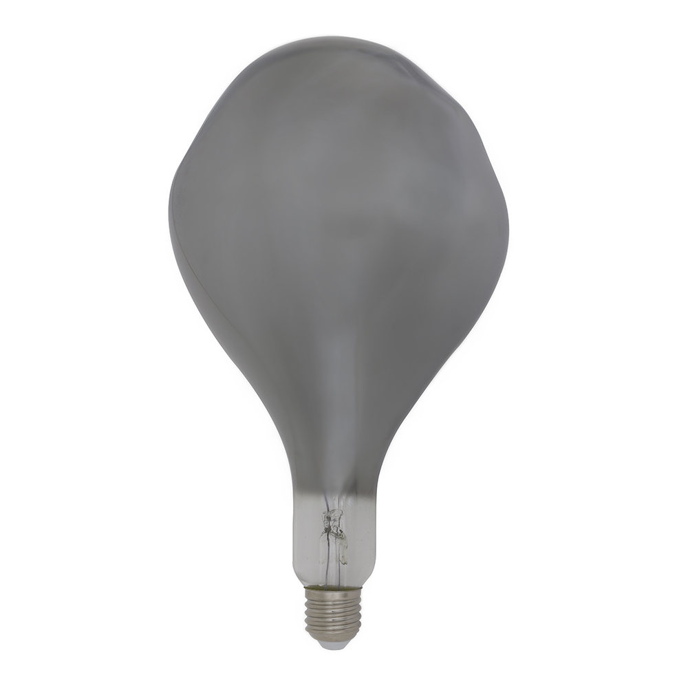 Asym Smoked Dimmable E27 Lamp