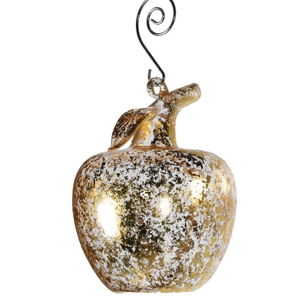 Gold Apple Bauble